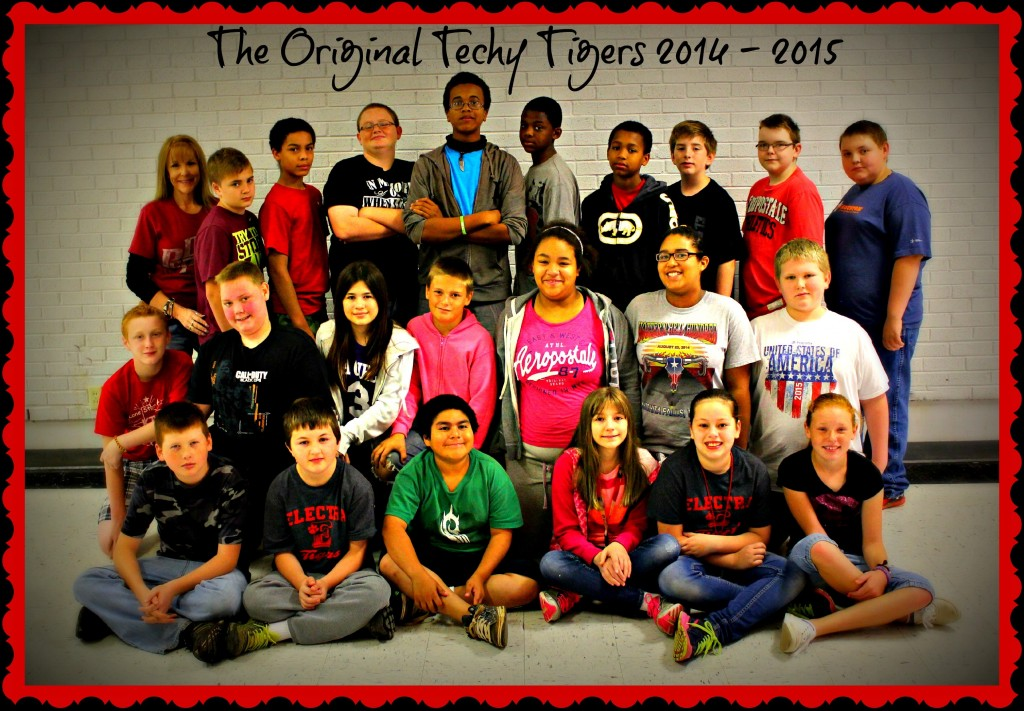 The original Techy Tigers 2014 - 2015 (3)